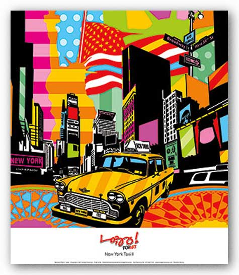 New York Taxi II by Lobo