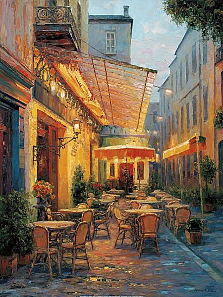 Cafe Van Gogh 2008 Arles France by Haixia Liu