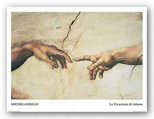 La Creazione di Adamo (The Creation of Adam) by Michelangelo