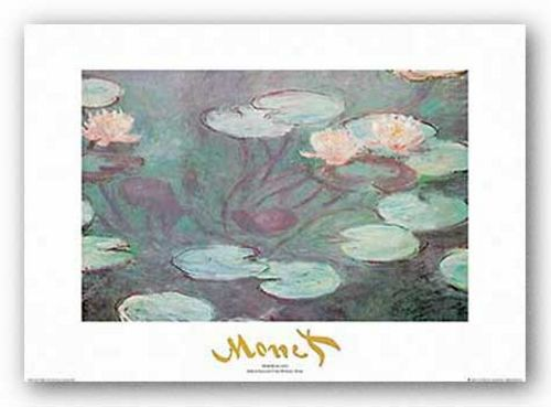 Nymphaeas 1 (Metallic Title) by Claude Monet