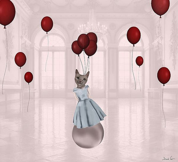 Ball with Balloons by Daniela Nocito
