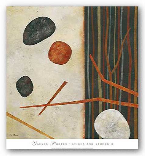Sticks and Stones II by Glenys Porter