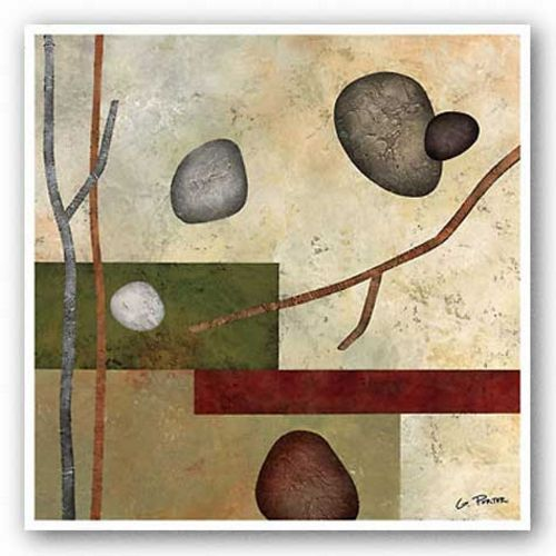 Sticks and Stones VII by Glenys Porter