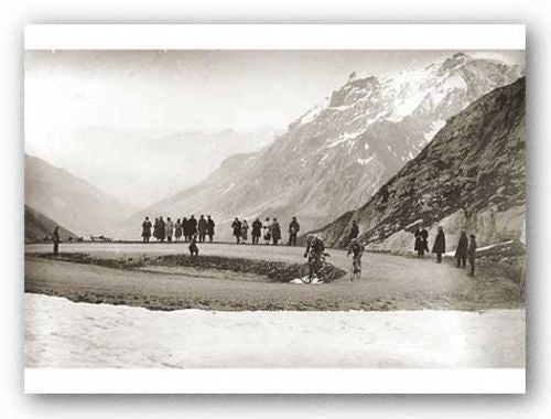Snow on the Galibier, 1924 by Sports Pressee