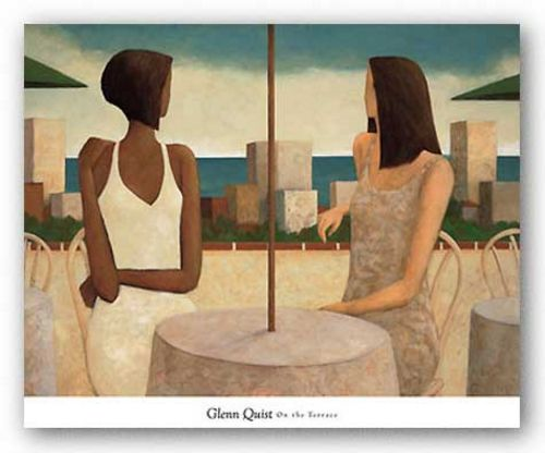 On the Terrace by Glenn Quist