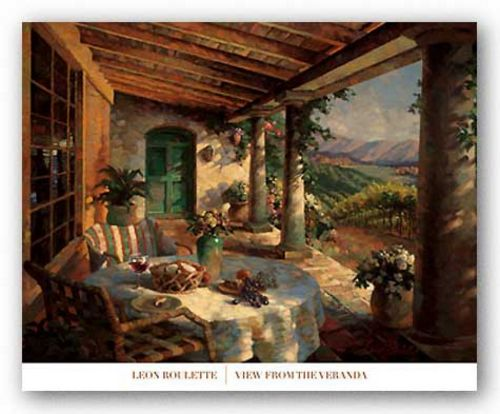 View from the Veranda by Leon Roulette