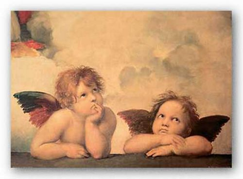 Angels by Sanzio Raphael (Raffaello)