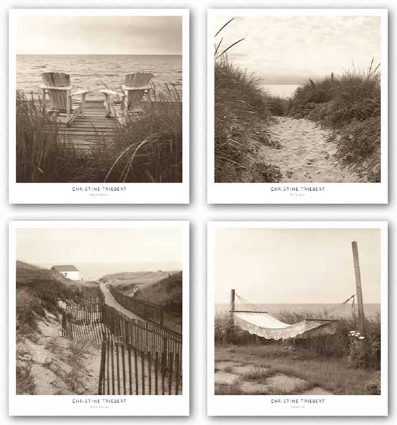 Beach Set by Christine Triebert