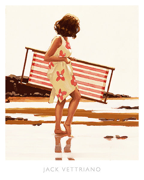 Sweet Bird of Youth (Study) by Jack Vettriano