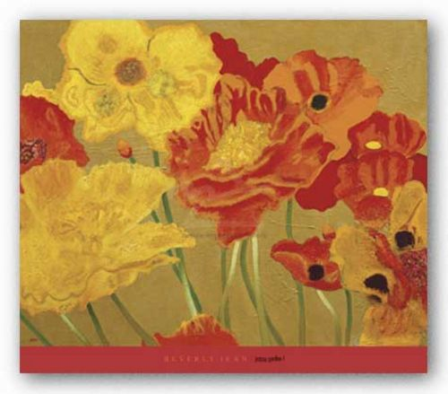 Poppy Garden I by Beverly Jean