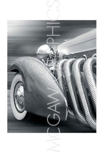 Duesenberg in Motion by Richard James