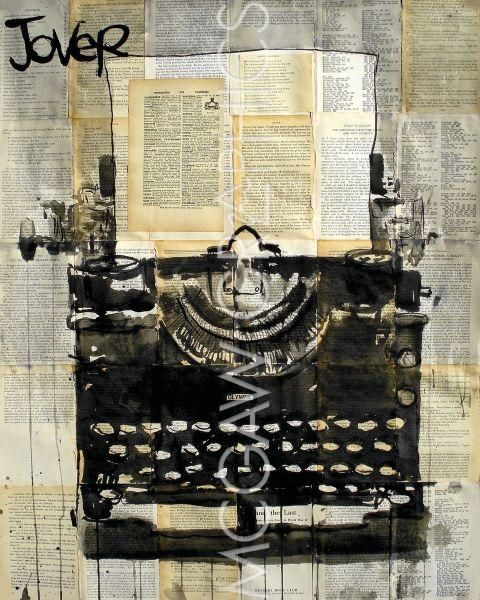 Typewriter by Loui Jover