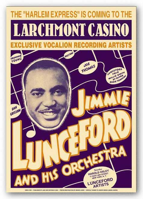 Jimmy Lunsford at Larchmont New York 1938