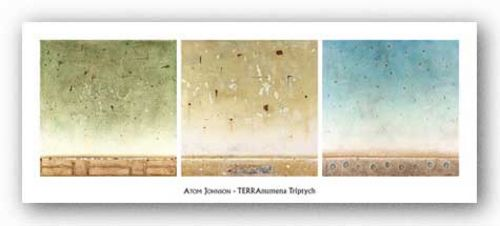 TERRAnumena Triptych by Atom Johnson