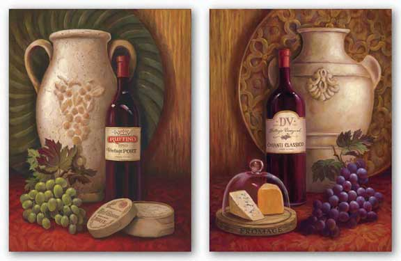 Fresco Vineyard Set by Jillian Jeffrey