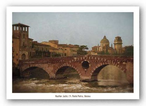 Ponte Pietra, Verona  by Heather Jacks