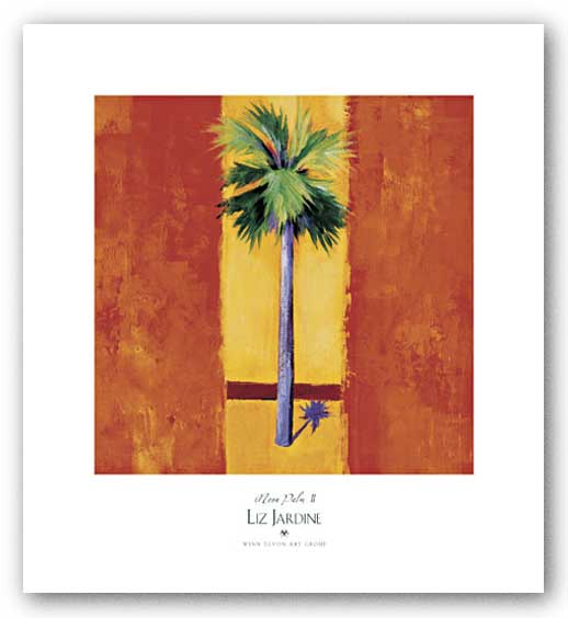 Neon Palm II by Liz Jardine