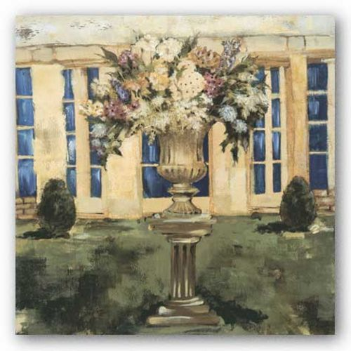 Patio Urn I by Liz Jardine