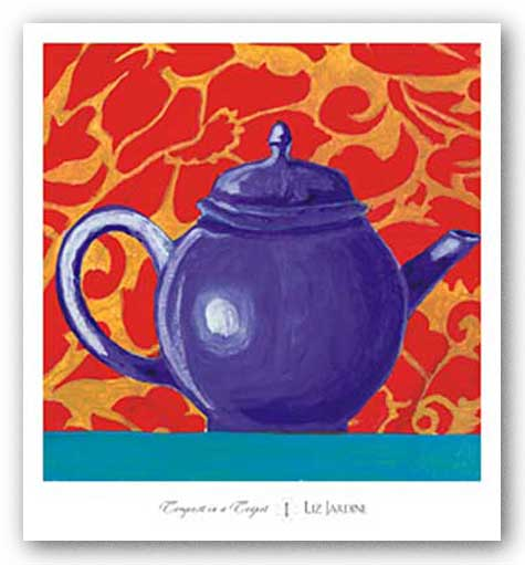 Tempest in a Teapot I by Liz Jardine