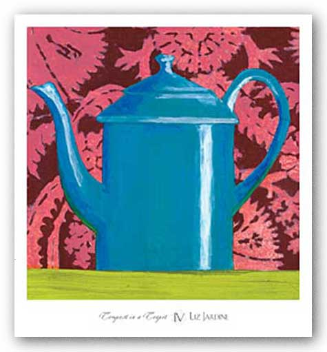 Tempest in a Teapot IV by Liz Jardine