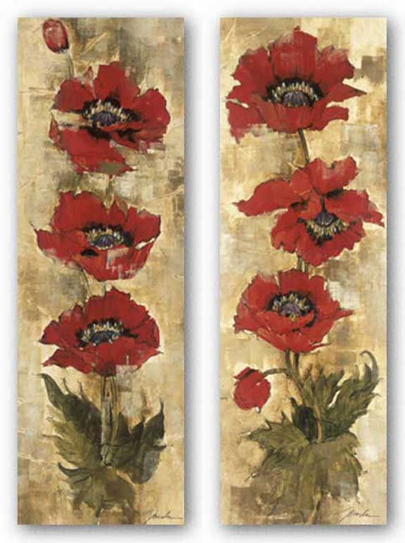 Strand of Poppies Set by Liz Jardine