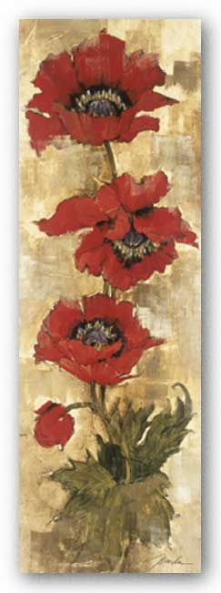Strand of Poppies II by Liz Jardine