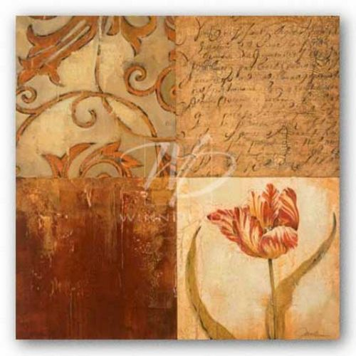 Tulip Manuscripts II  by Liz Jardine