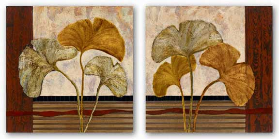 Urban Ginkgo Set by John Kime