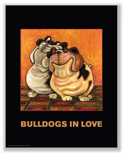 Bulldogs in Love by Kourosh