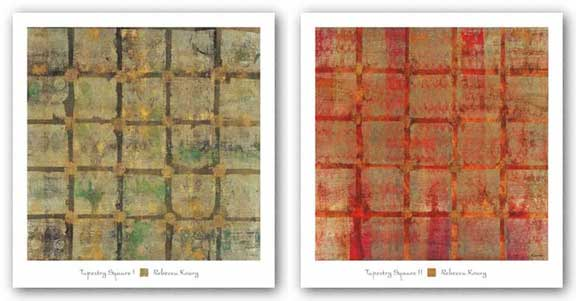 Tapestry Square Set by Rebecca Koury