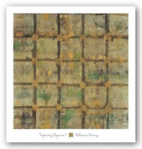 Tapestry Square I by Rebecca Koury