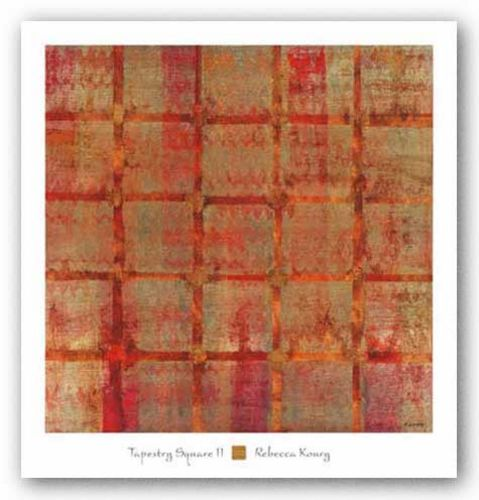 Tapestry Square II by Rebecca Koury