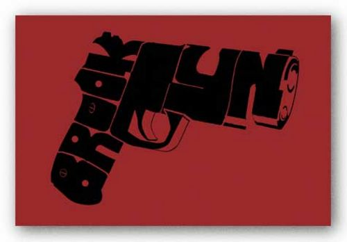 Gun from Brooklyn by L.A. Pop Art