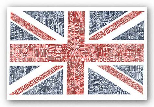 Union Jack by L.A. Pop Art