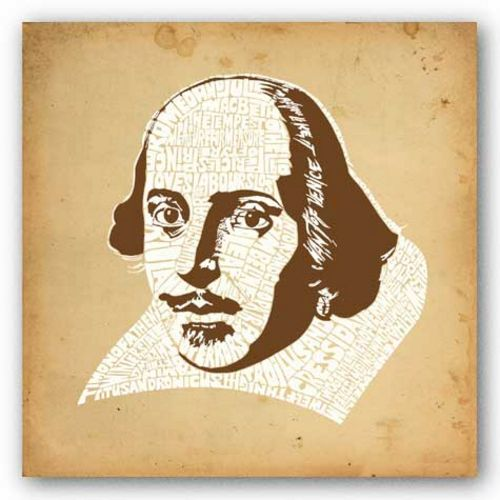Shakespeare by L.A. Pop Art