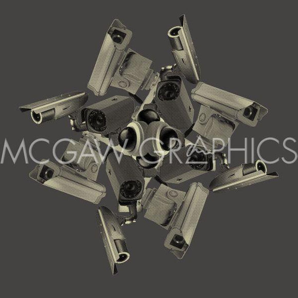 Security (Kaleidoscope Cameras) by Jason Laurits