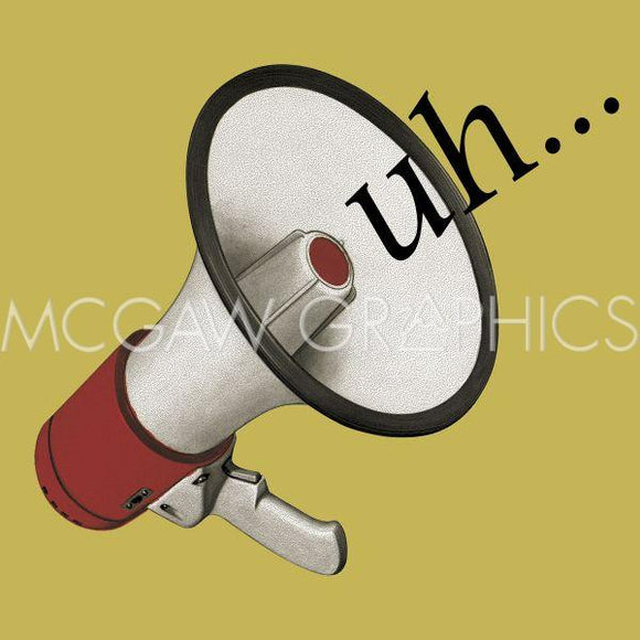 Uh (Bullhorn) by Jason Laurits