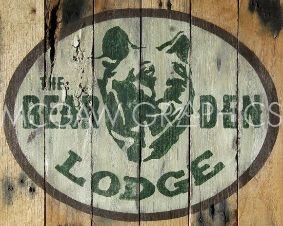 The Bear Den Lodge by Ketelyn Lynch