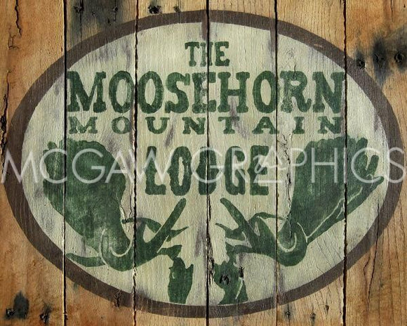 The Moosehorn Mountain Lodge by Ketelyn Lynch