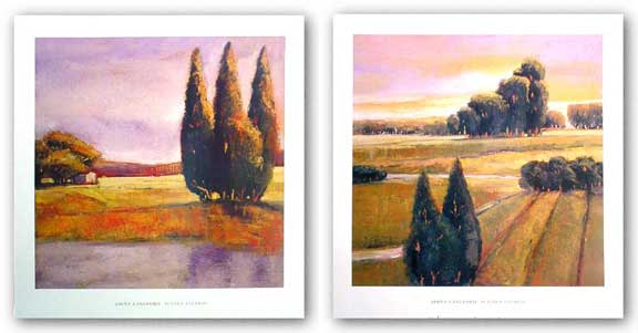 Summer Cypress and Sunset Cypress Set by Adina Langford
