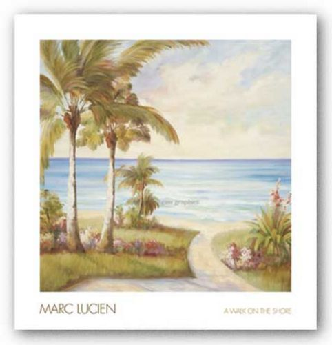 A Walk on the Shore by Marc Lucien