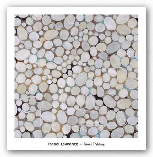 River Pebbles by Isabel Lawrence