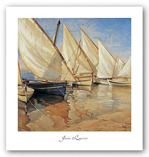 White Sails I by Jaume Laporta