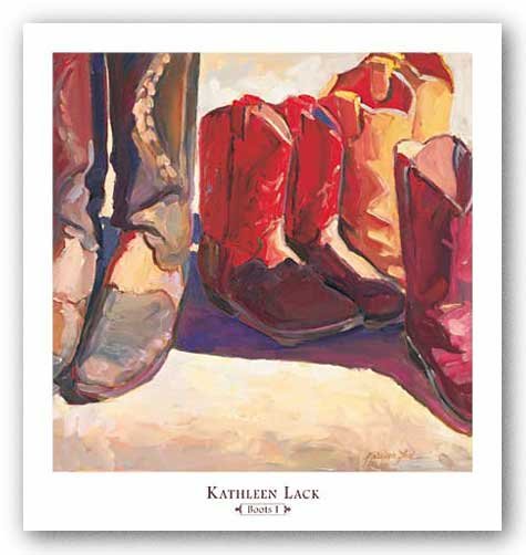Boots I by Kathleen Lack