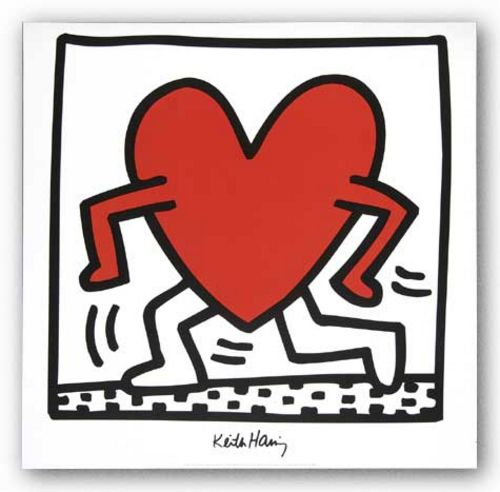 Untitled 1984 by Keith Haring