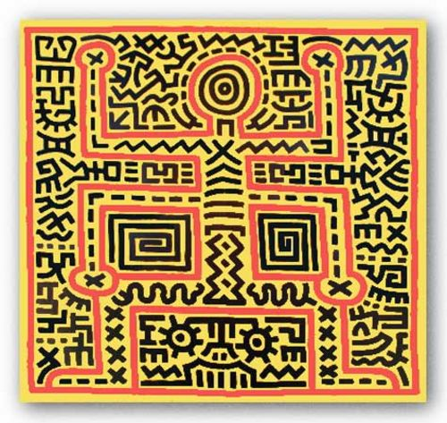 Untitled (1983) by Keith Haring