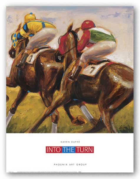Into the Turn by Karen Dupre