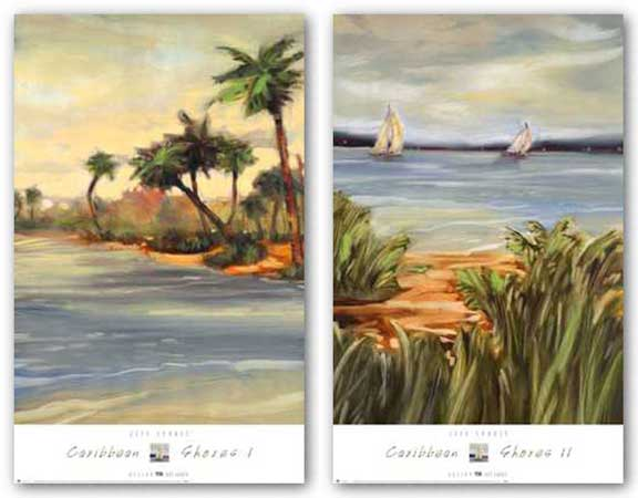 Caribbean Shores Set by Jeff Surret
