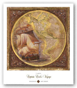 Captain Cook's Voyage by P. Moss