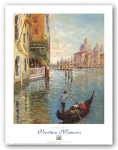Venetian Memories by Michael Longo